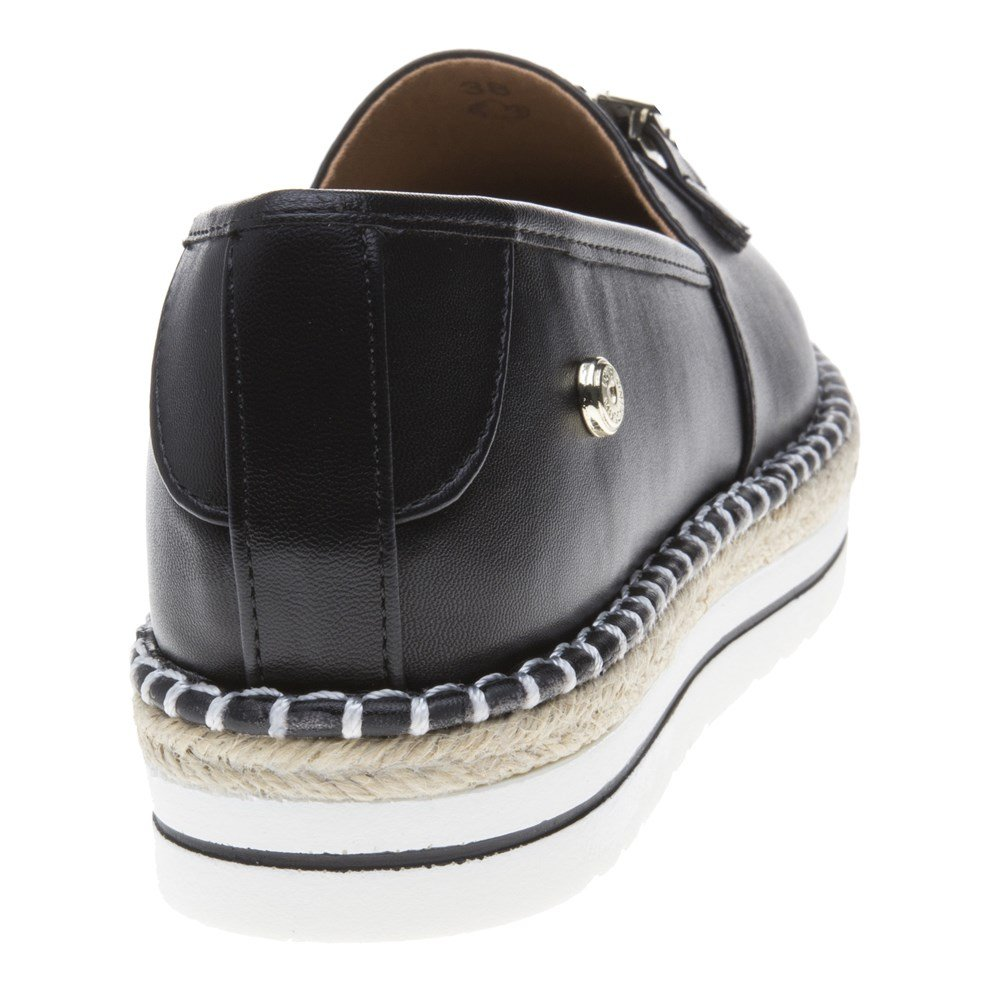 Love Moschino Espadrille Love Womens Shoes Black by Love Moschino (Image #3)
