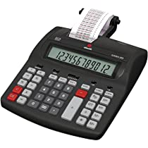 Olivetti 4646000 - Calculadora de sobremesa con impresión: Amazon ...