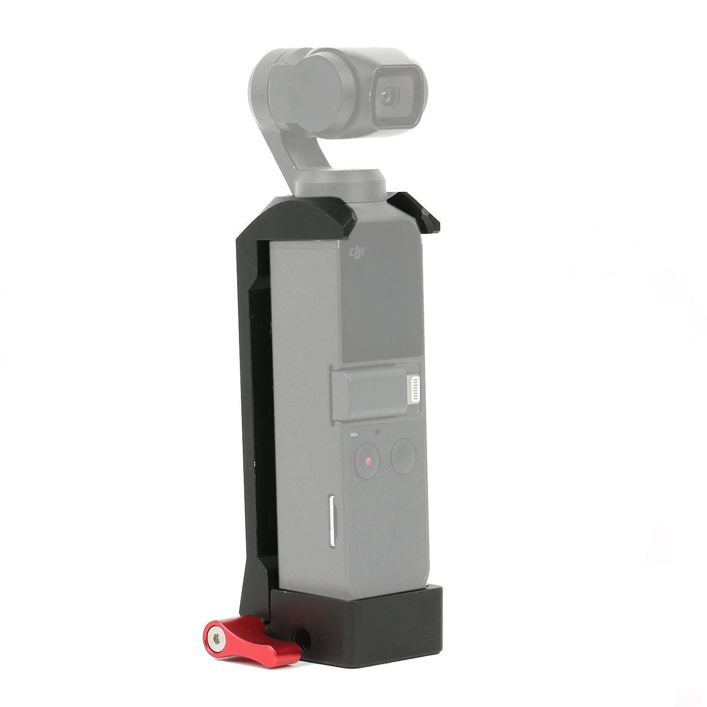 ULANZI OP-4 Base WiFi Adaptador de Tr/ípode Accesorios de Extensi/ón Compatible para dji OSMO Pocket M/ódulo inal/ámbrico Base Gimbal