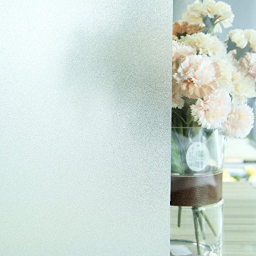 Fancyfix粘着Free Decorativeつや消しプライバシーウィンドウフィルム 29in. x 70in. ホワイト B01DVW3H08 29in. x 70in.29in. x 70in.
