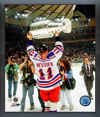 Mark Messier New York Rangers NHL Stanley Cup Photo (Size: 12