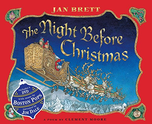 The Night Before Christmas (Book & DVD)