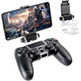 FiiMan PS4 Controller Phone Clip, PS4 Slim Pro Controller Grip for Android Smart Phone, 180 Degree Gaming Holder Mount…