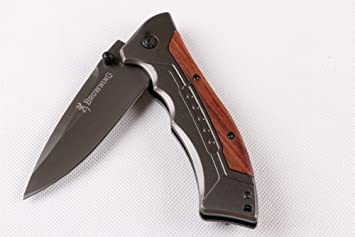 KNIFE SHOP Cuchillo Plegable de la Aventura del Desierto de ...