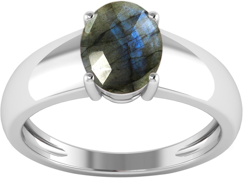 Beautiful Labradorite Ring Size 10