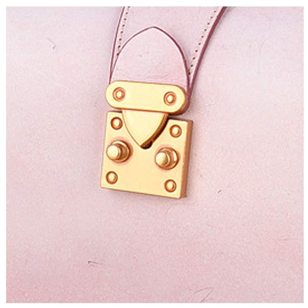 女性のための女性のショルダーバッグフォグワックスレザーカジュアルデイパッククロスボディハンドバッグ,pink,17*22*10cm B07RQ2W6VN pink 17*22*10cm