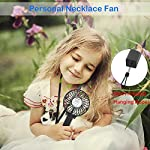 VersionTECH. Mini Handheld Fan, USB Desk Fan, Small Personal Portable Stroller Table Fan with USB Rechargeable Battery Operated Cooling Folding Electric Fan for Travel Office Room Household 12 【Hanging Umbrella Design】: Unique design style, you can hang the fan above your umbrella or parasol.The design is ideal for outdoor crowds, and you don't have to worry about the outdoors even when the temperature is so high, because this fan can cool you down,It's a must-have for the summer. 【Folding And Multipurpose Design】: This fan can fold up to 180°.You can use this fan: ①hold it on your hand, ②put it on the table, ③hang it on the sun umbrella, ④clip it on other objects; If you don't know how to use it, please look at the picture or contact us. If you find better uses, you can also tell us. 【ENERGY SOURCE】: This fan is a USB port rechargeable model. It can also be powered directly by batteries, but you must remove the insulation from the battery compartment, otherwise it will not be recharged or used.USB cable can be charged with computer, mobile power, power bank and so on.