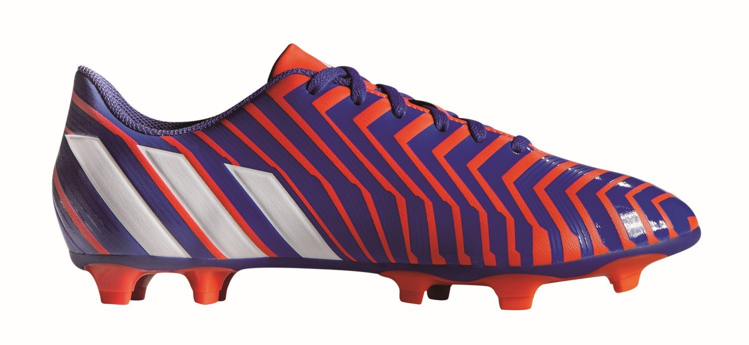 829407a51cc4 Buy Adidas B35492 Football Shoe Predito Instinct FG SolRed FtWht Ngtfla  (Ind Uk 9) Online at Low Prices in India - Amazon.in