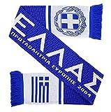 Hellas Greece Soccer Knit Scarf