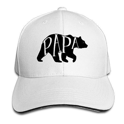 a82cac2295 Amazon.com  Papa Bear American Apparel Dads Baseball Caps Summer Sandwich  Cap (6311343110986)  Books