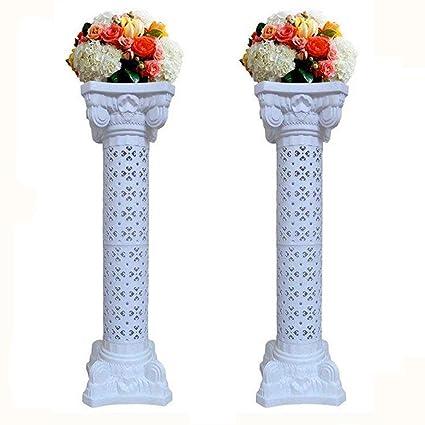 Amazon 2pcs Elegant Wedding Roman Column Set Pillars Decoration