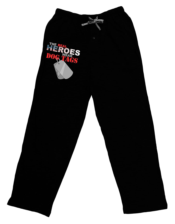 TooLoud Heroes Dog Tags Adult Lounge Pants