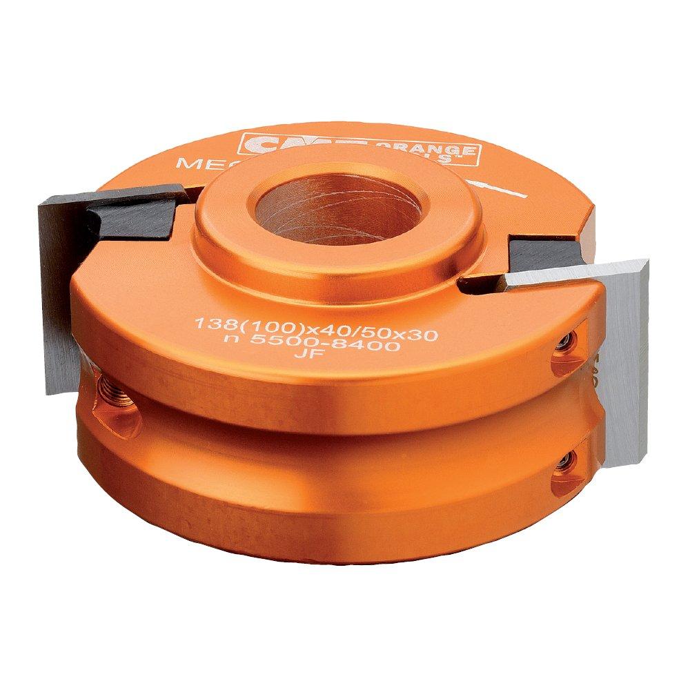 CMT 692.100.31 Universal Shaper Cutter Head, 4-Inch Diameter, 1-1/4-Inch Bore