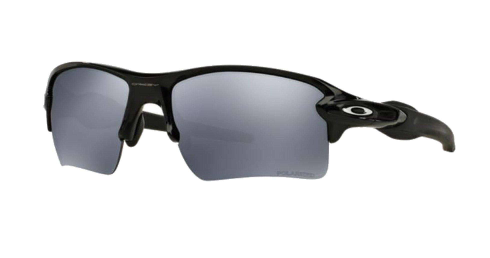 Oakley Flak 2.0 XL Polished Black/ Black Iridium Polarized 918808 + SD Gift +Kit