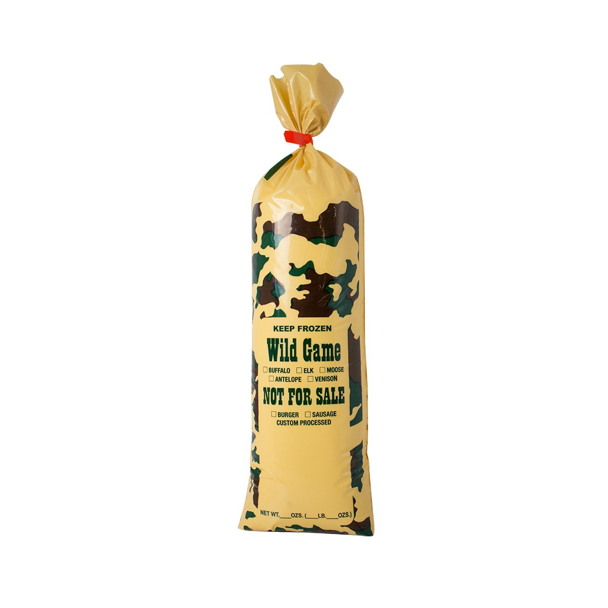"""UltraSource Wild Game Camo Freezer Bags, 2 lb.""""Not For Sale"""" (Pack of 1000)"""