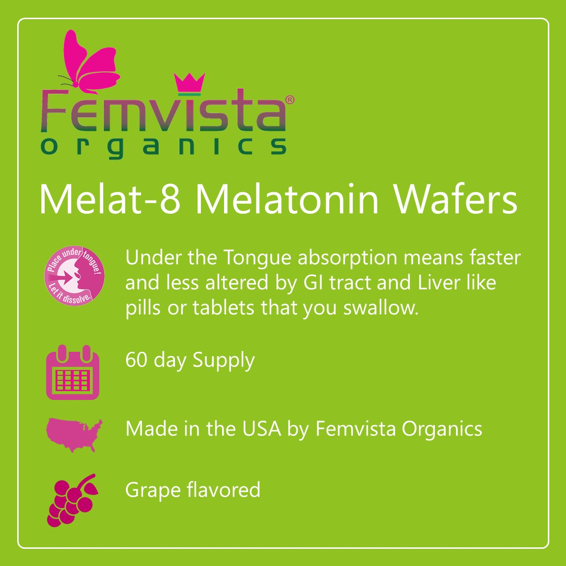 Amazon.com: melat-8 – Melatonina 4.5 mg Obleas, Fast Acting ...