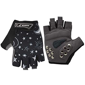 Kids Child Half Finger Fingerless Gloves Outdoor Riding Skating Cycling Accesory