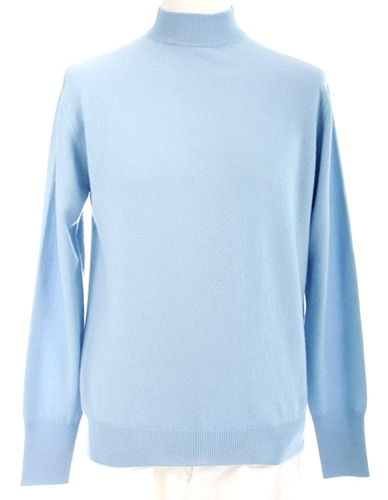 Shephe Men's Mock Turtleneck Cashmere Sweater