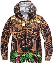 Dressy Daisy Boys' Adventure Maui Hoodies Zipper Hooded Jacket Thin Outer