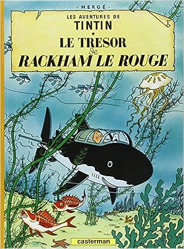 les aventures de tintin la recherche du trsor de rackham le rouge fr french edition