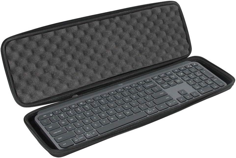 Hermitshell Hard Travel Case for Logitech MX Keys Advanced Wireless Illuminated Keyboard