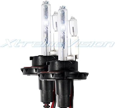 - 2 Year Warranty H13 // 9008 30000K 1 Pair Deep Blue HID-Warehouse HID Xenon Replacement Bulbs