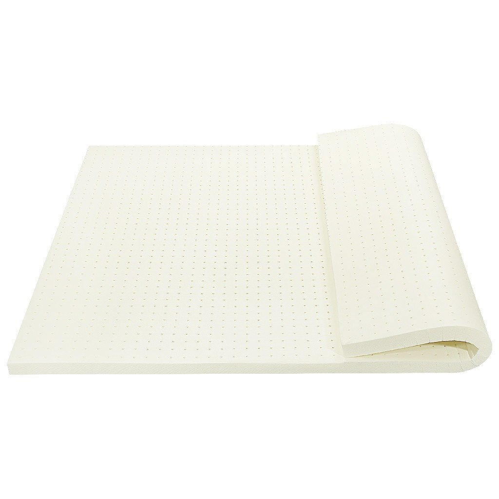 2 inch Luxury Natural Latex Topper Mattress Topper with Bamboo Cover Double Size(Double) Stumix