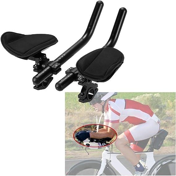 Cycling Bike Rest Handlebar Relaxation Handle Triathlon Road Arm Rest Bars USA