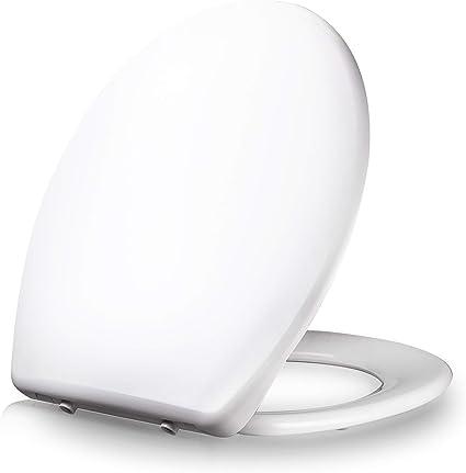 abattant wc dombach celesto premium abattant wc en forme de ovale antibacterien fermeture en douceur descente lente demontage rapide facile a