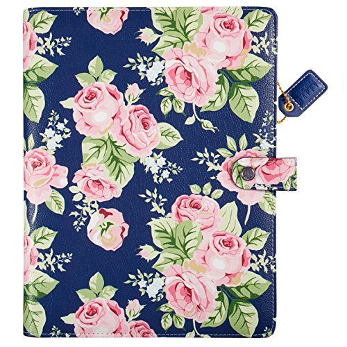 Webster's Pages Navy Floral Composition Planner (CP001-NF)