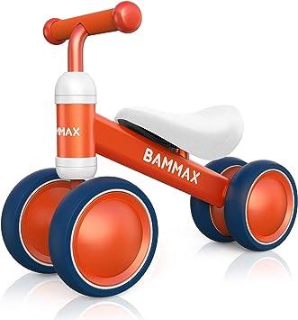 Bammax Bicicleta sin Pedales, Bici sin Pedales Niño, Juguetes Bebes 1 Año, Triciclos Bebes, Correpasillos Bebes 1 Año, Naranja: Amazon.es: Juguetes y juegos