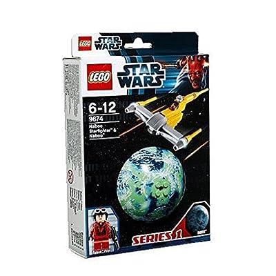 LEGO Star Wars 9674 - Naboo Starfighter y Naboo: Juguetes y juegos