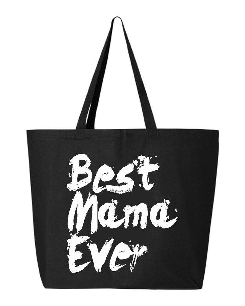 数量は多い  shop4ever Best Mama EverペイントHeavyキャンバストートバッグ母の日再利用可能なショッピングバッグ10オンスジャンボ ブラック 25 oz oz ブラック Mama WSE_1215_BestMamaPnt_TB_Q600_Black_2 B06XX2J74Y ブラック, 榛名町:22e31893 --- mcrisartesanato.com.br
