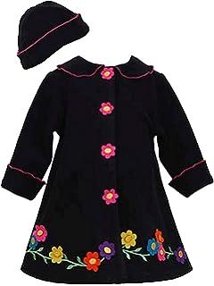9e48fb83341d9 Amazon.com: Bonnie Jean Little Girls' Coral Fleece Coat with Leopard ...