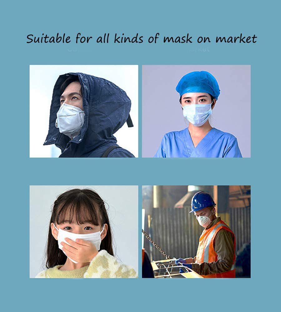 5 PCS Face Mask Hook 4 Gear Anti-Tightening Mask Ear Protector Ear Strap Extender Buckle for Relieving Pressure and Pain Mask Hooks Adjustable Mask Strap