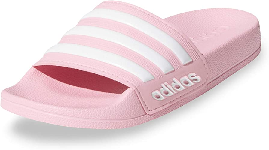 adidas Adilette Shower K, Chaussures de Plage & Piscine Fille