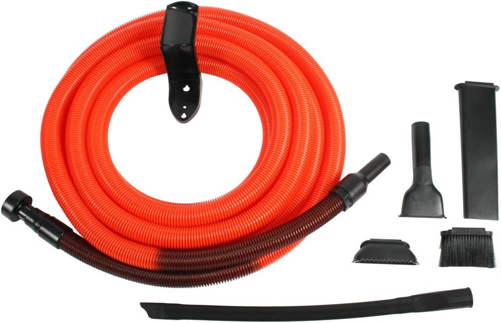 Cen-Tec Systems 93554 Shop Vacuum Garage Kit, 30', Orange/Black