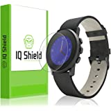 IQ Shield LiQuidSkin (6-Pack) - Pebble Time Round 20mm Screen Protector & - HD Ultra Clear Film - Protective Guard - Extremely Smooth / Self-Healing / Bubble-Free Shield