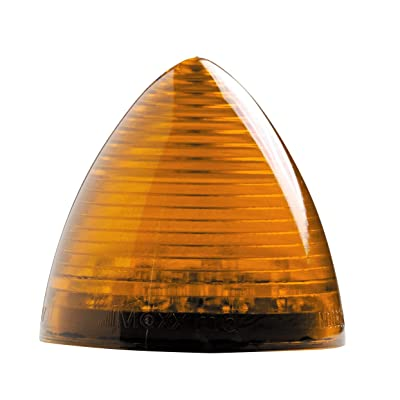 "Maxxima M11201Y Amber 2-1/2"" LED Beehive Clearance Marker Light: Automotive"