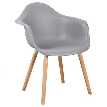 Woltu 1x Chaise De Salle A Manger En Plastique Design Chaise De
