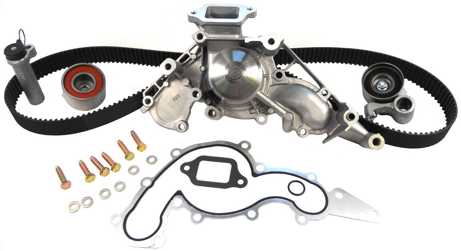 ACDelco TCKWP298 Professional Timing Belt and Water Pump Kit with Idler Pulley and 2 Tensioners