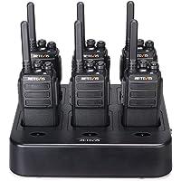 Retevis Radios bidireccionales RT28 de largo alcance, recargable de 2 vías, Walkie Talkie para adultos con cargador…