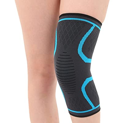 JudyBridal Graduated Compression Knee Brace for Stabilizing and Recovery for Arthritis,Running,Joint Pain and Sports for Men & Women