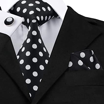 HYCZJH Corbatas de Seda de Corbatas para Hombres, 8,5 cm de Ancho ...