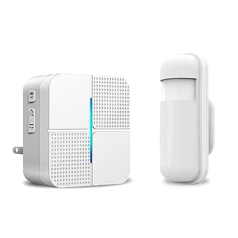 Amazon.com: Detector de alarma con sensor de movimiento ...