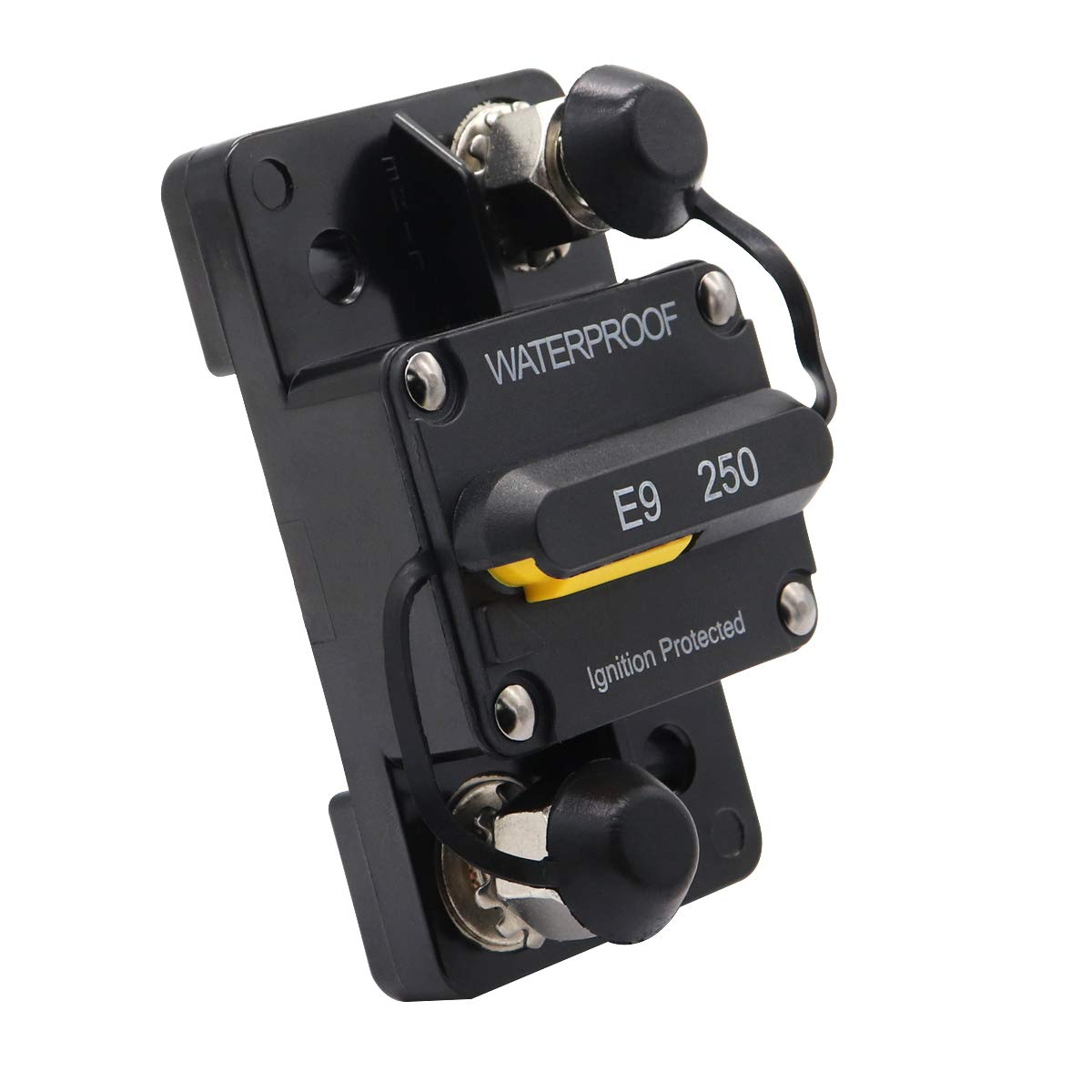 Waterproof 100 Amp Surface-Mount Circuit Breakers with Manual Reset 12V 48V DC