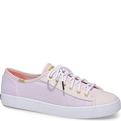 Keds x Alaina Marie Kickstart Mesh Lobster Women 7.5 Strawberry Cream Pink | Fashion Sneakers