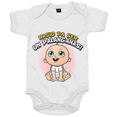 Body bebé nacido para ser un palanganas Sevilla fútbol - Blanco, 6-12 meses
