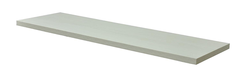 エイアイエス(AIS) テーブルキッツ天板 奥行45cm 幅140cm ホワイト TBK-1445TB WH B01CJF6WGY ホワイト 幅140×奥行45×厚さ3.5cm
