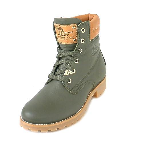 Panama Jack BOTIN PANAMA 03 TRAVELLING B14 VERDE: Amazon.es: Zapatos y complementos